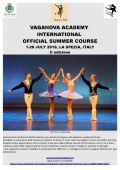 Vaganova Academy Audition