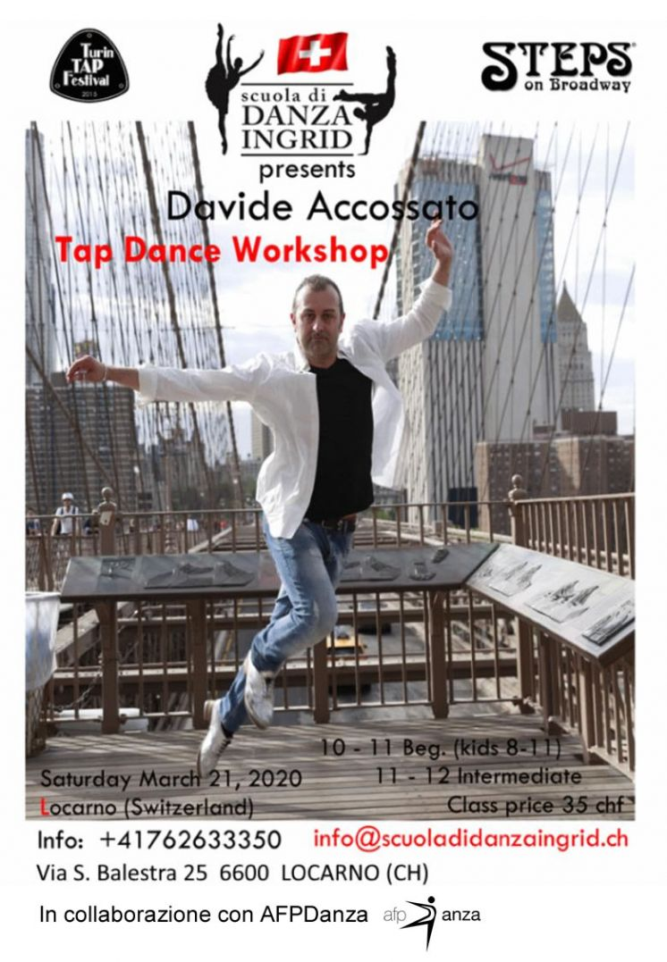 Tap Dance Workshop - Davide Accossato