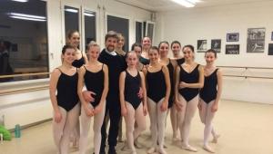 Lezioni di danza classica Open Classes con Alessandro Grillo