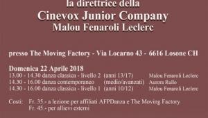 Stage Cinevox Junior Company