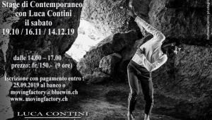 Stage di Contemporaneo con Luca Contini