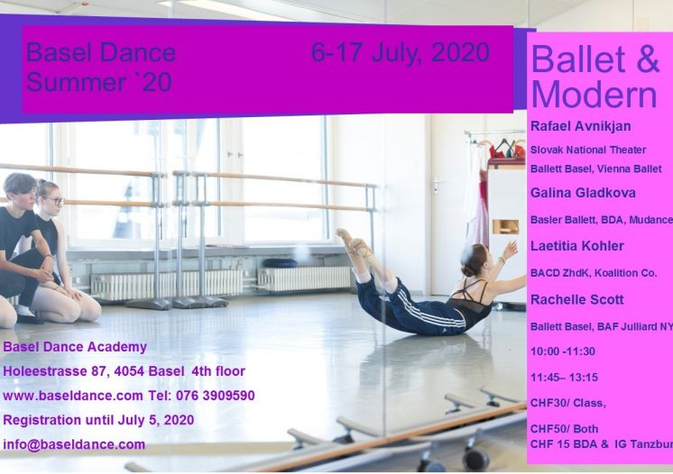 Basel Dance - Summer '20